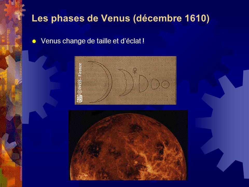 Les phases de Venus (décembre 1610)