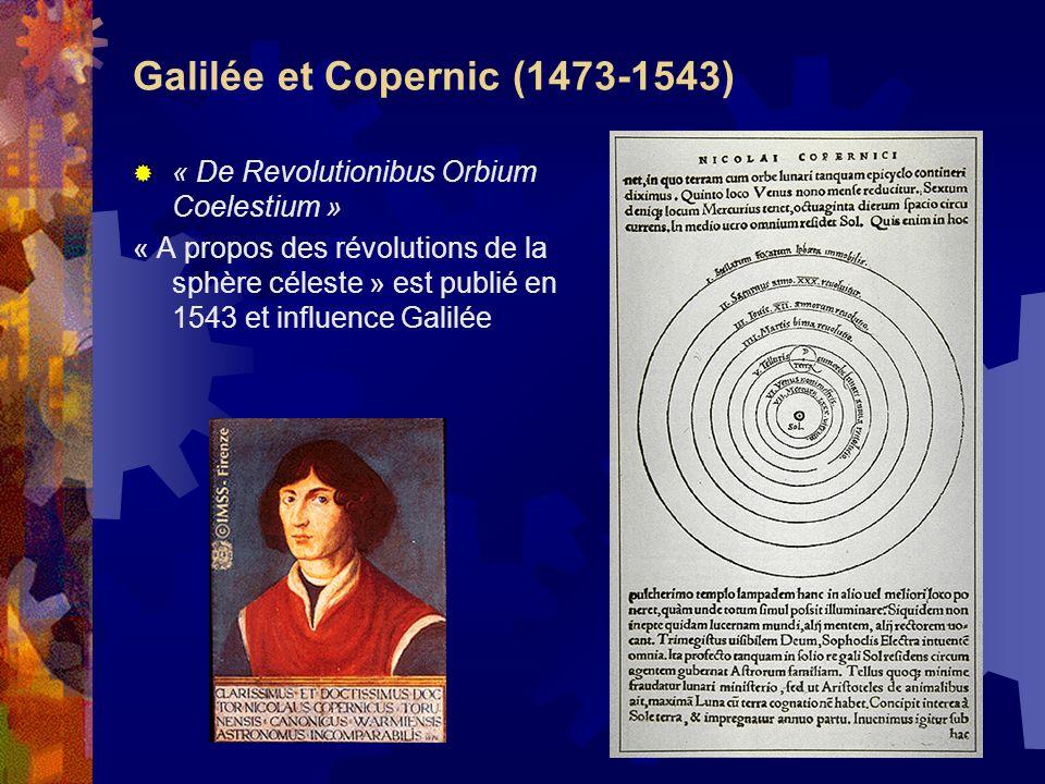 Galilée et Copernic (1473-1543)
