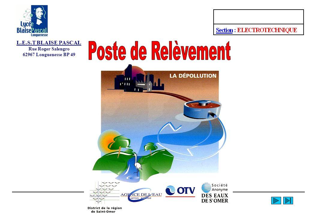 Poste de Relèvement L.E.S.T BLAISE PASCAL Rue Roger Salengro