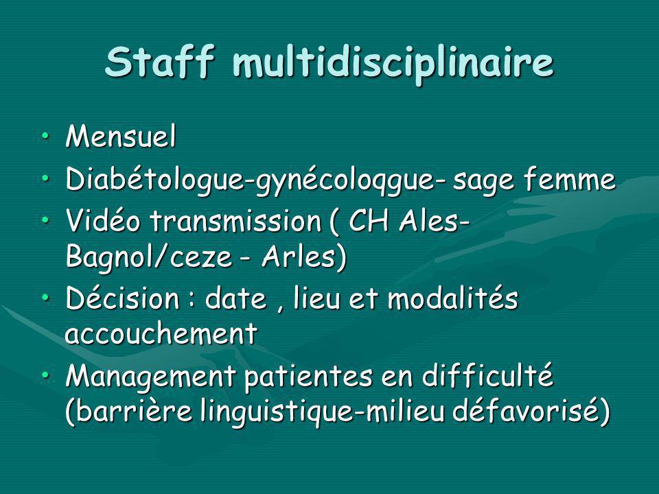Staff multidisciplinaire