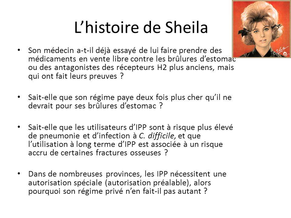 L'histoire de Sheila