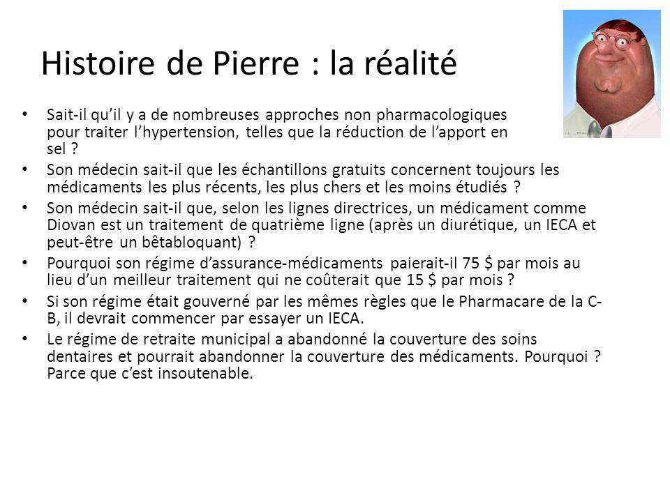 Histoire de Pierre : la réalité
