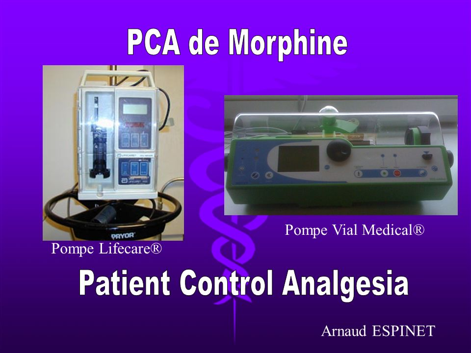 Patient Control Analgesia