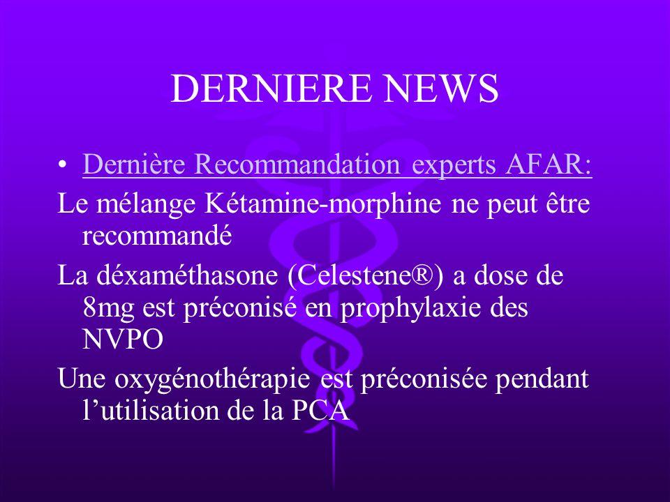 DERNIERE NEWS Dernière Recommandation experts AFAR: