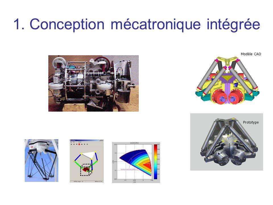 1. Conception mécatronique intégrée