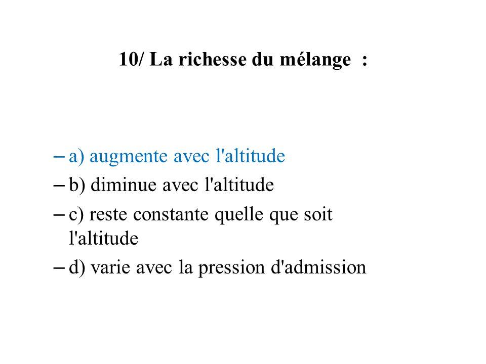 10/ La richesse du mélange :