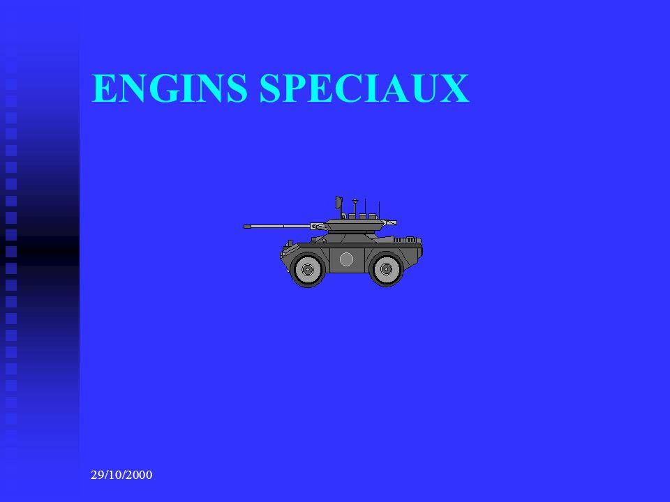 ENGINS SPECIAUX 29/10/2000