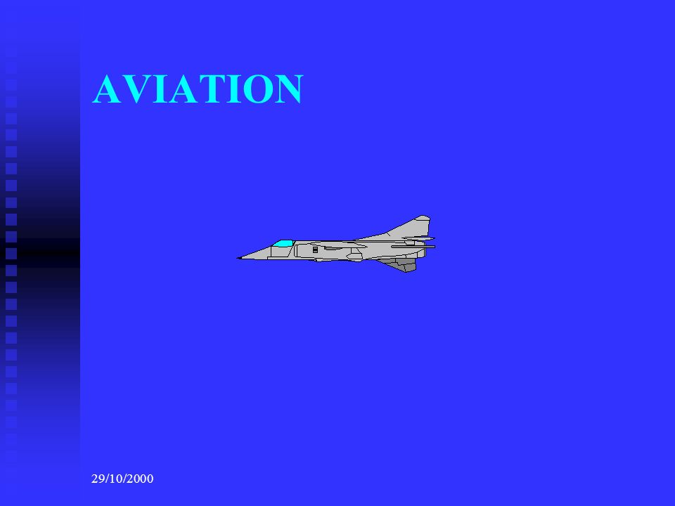 AVIATION 29/10/2000