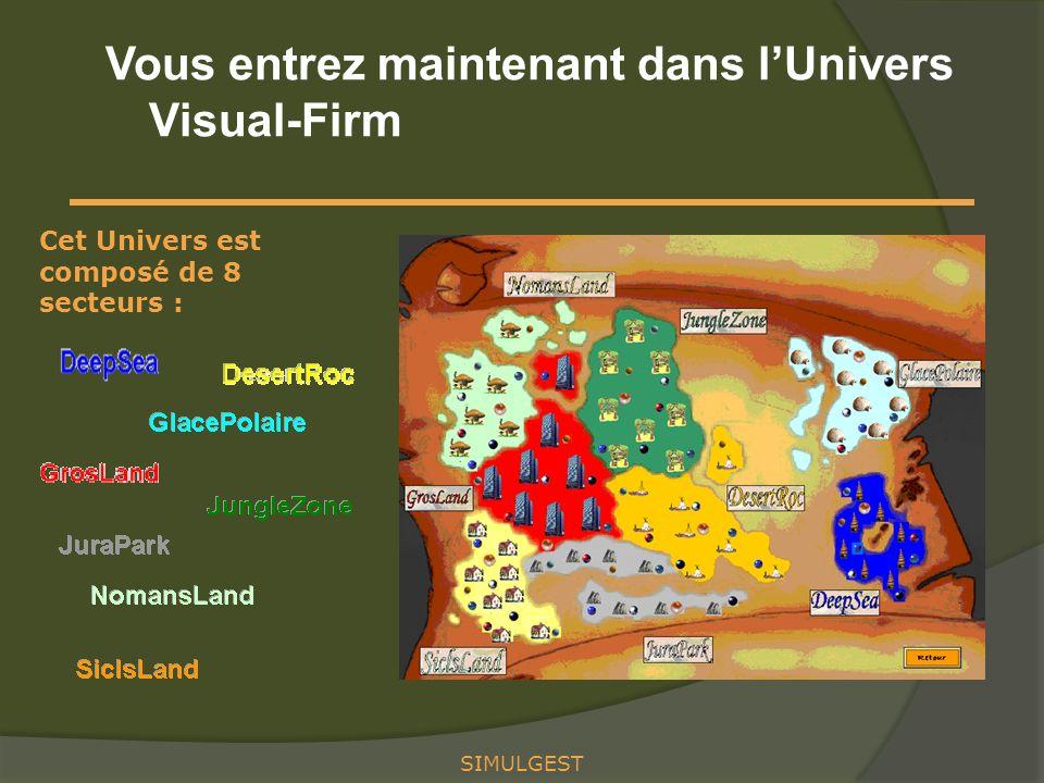 Vous entrez maintenant dans l'Univers Visual-Firm