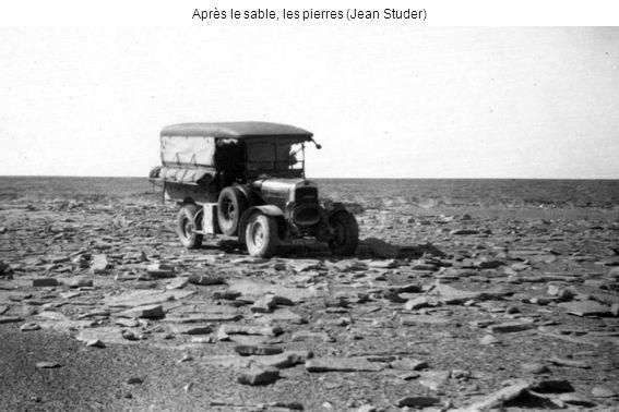 Après le sable, les pierres (Jean Studer)