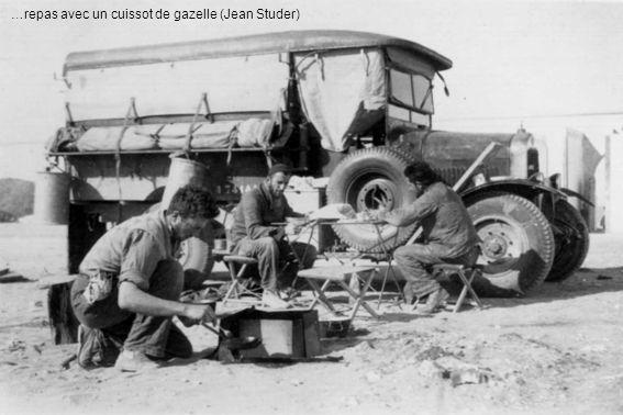 …repas avec un cuissot de gazelle (Jean Studer)
