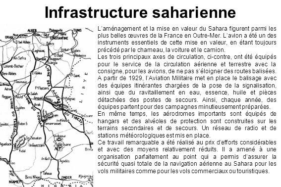 Infrastructure saharienne