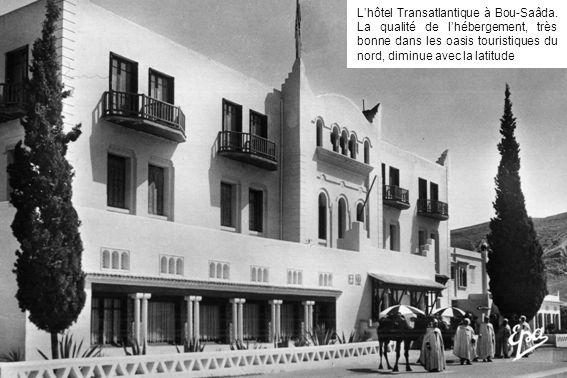 L'hôtel Transatlantique à Bou-Saâda