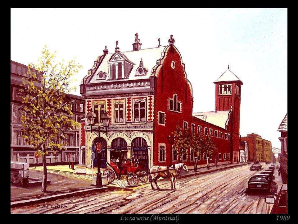 La caserne (Montréal) 1989
