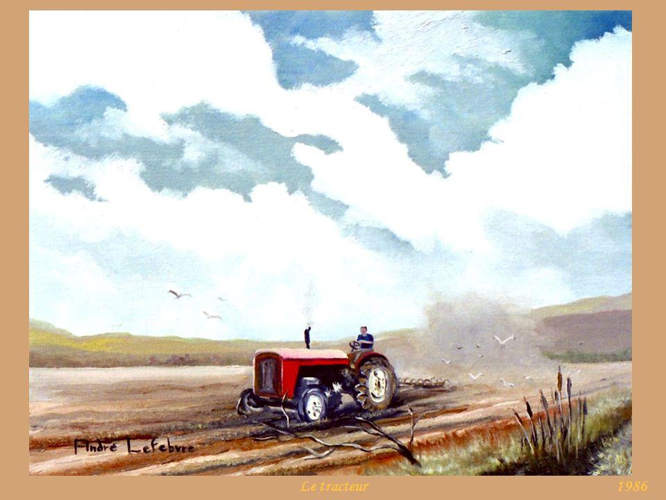 Le tracteur 1986
