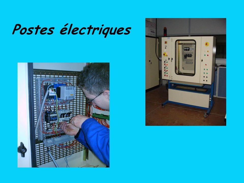 Postes électriques
