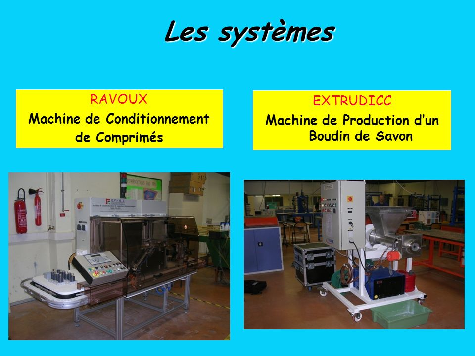 Machine de Conditionnement Machine de Production d'un Boudin de Savon