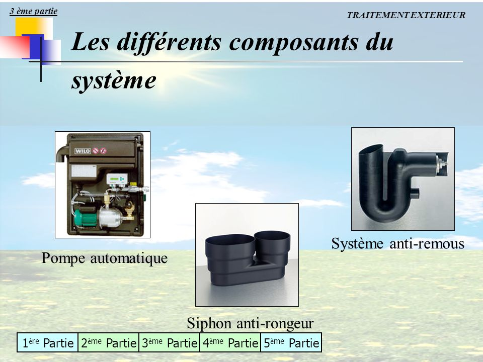 Traitement du b timent ppt t l charger for Systeme anti aboiement exterieur