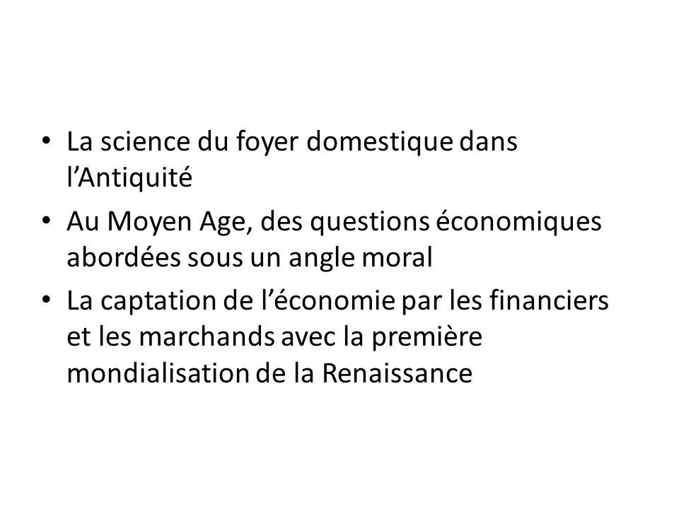 La science du foyer domestique dans l'Antiquité