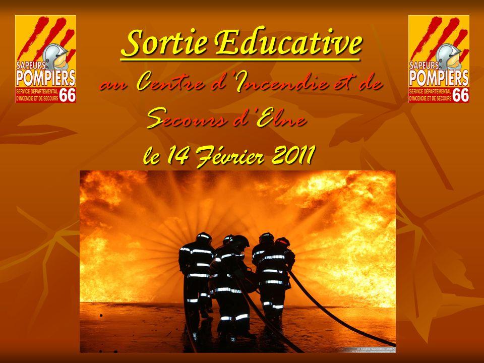 Sortie Educative au Centre d'Incendie et de Secours d'Elne