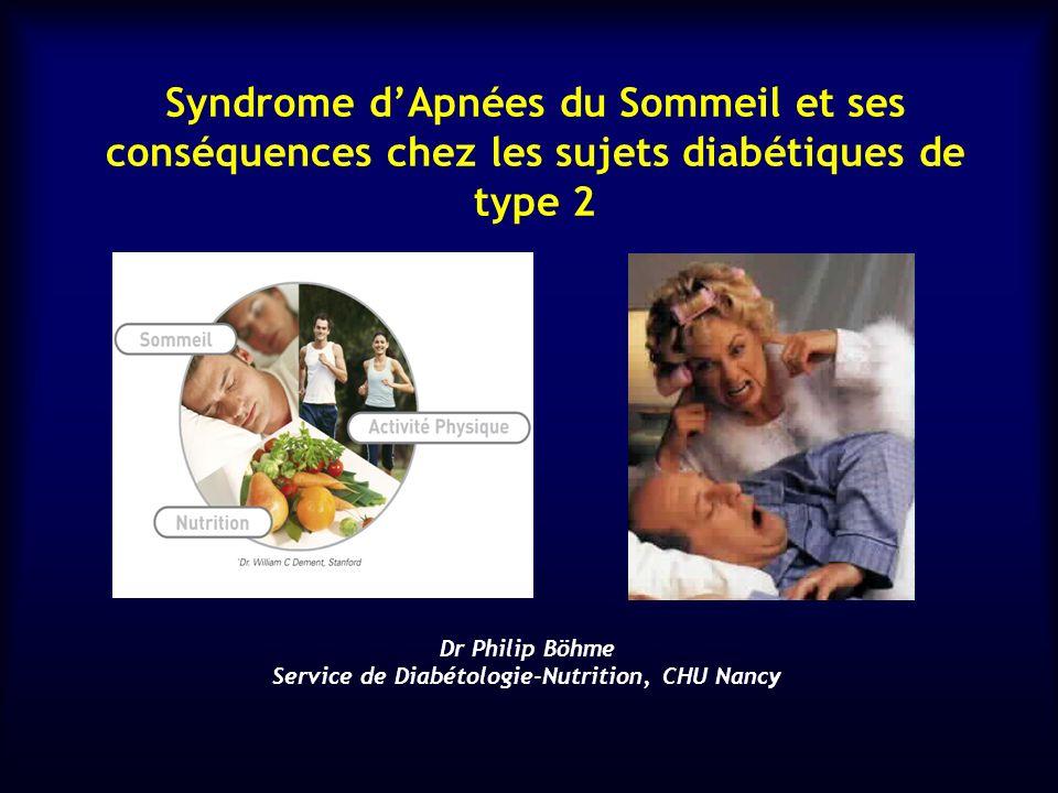 Dr Philip Böhme Service de Diabétologie-Nutrition, CHU Nancy