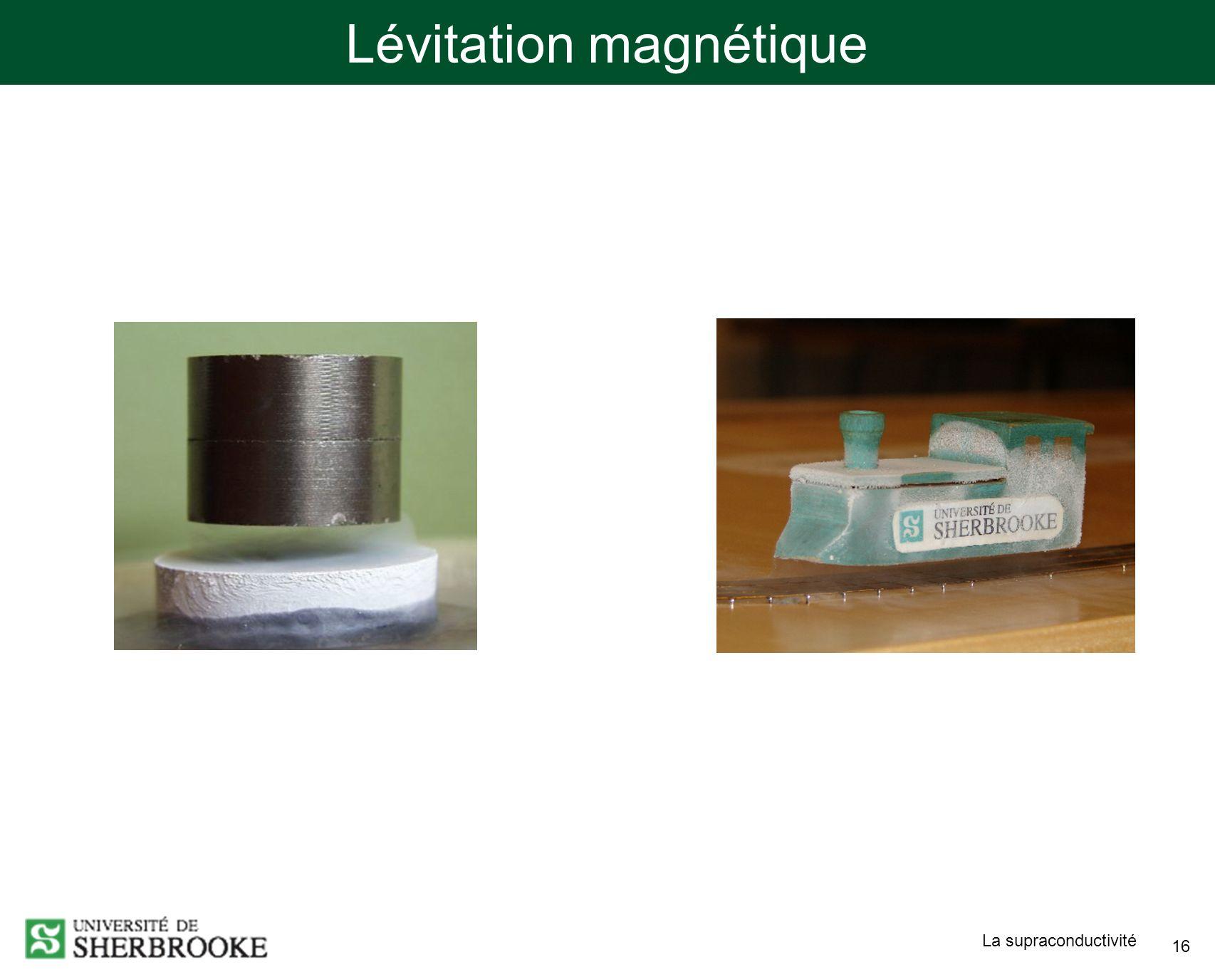 Lévitation magnétique