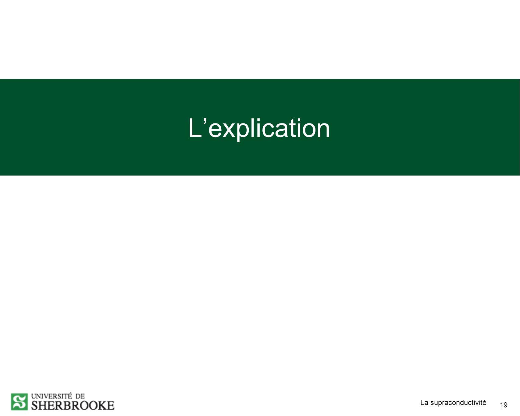 L'explication