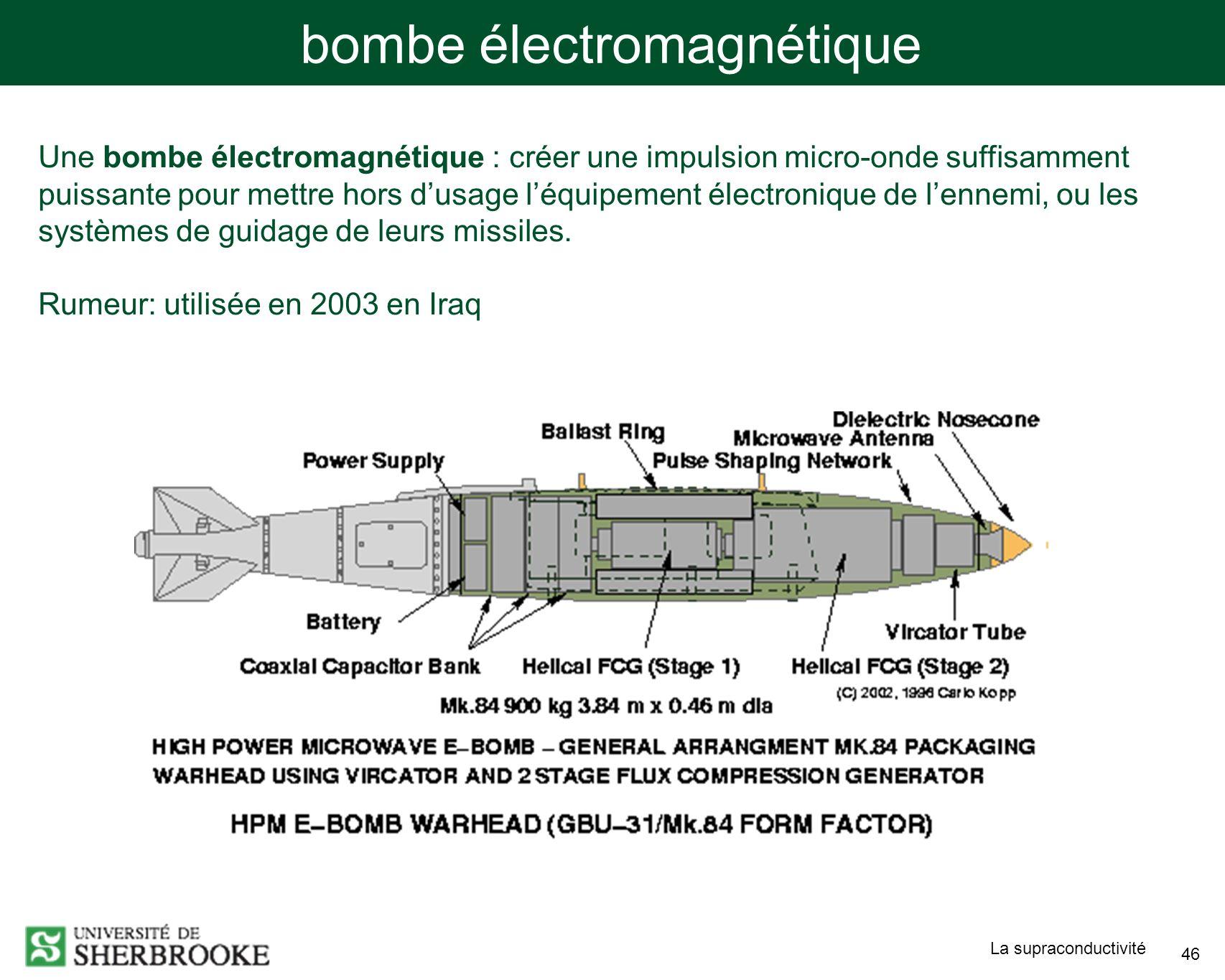 bombe électromagnétique