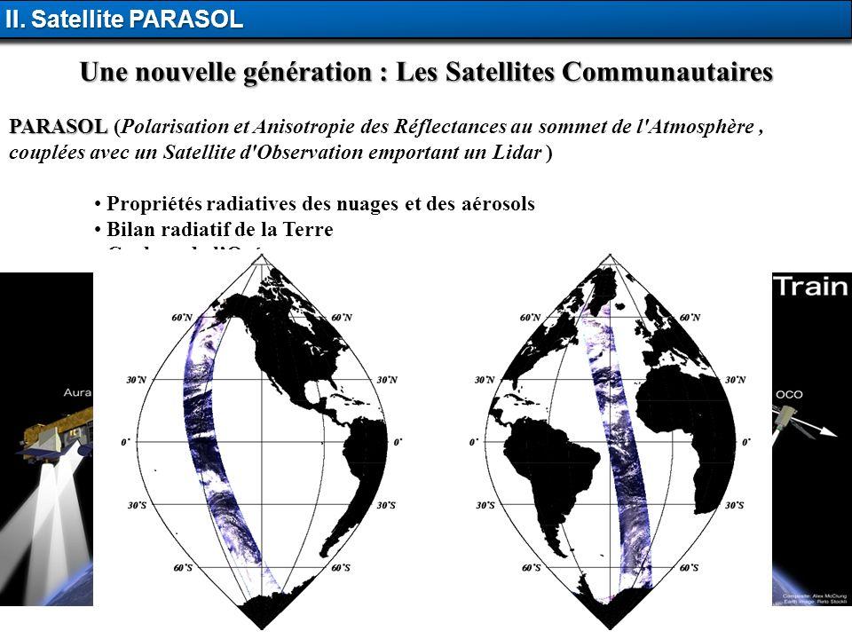 Une nouvelle génération : Les Satellites Communautaires