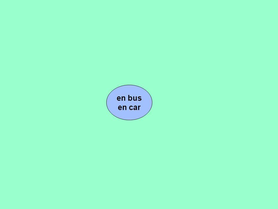 en bus en car