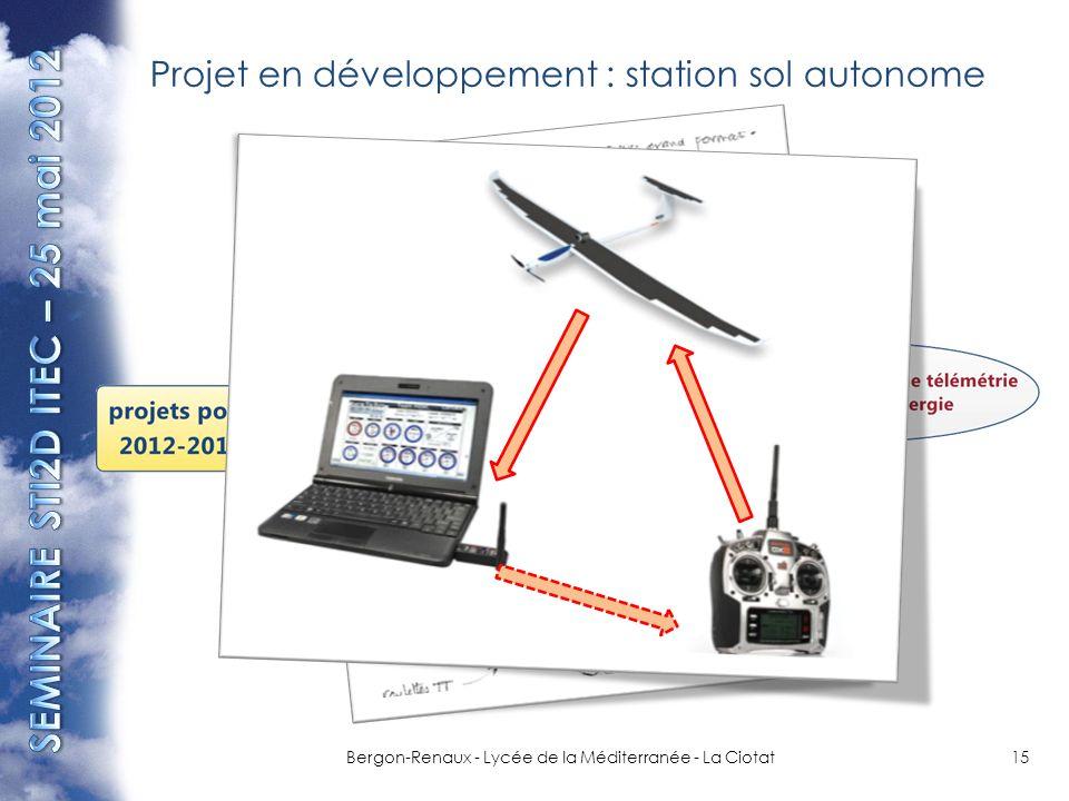 Projet en développement : station sol autonome