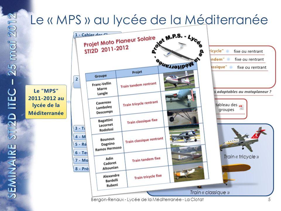 Le « MPS » au lycée de la Méditerranée
