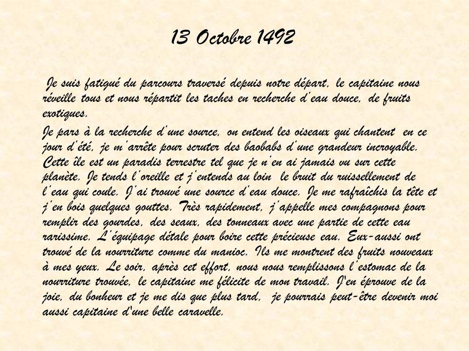 13 Octobre 1492
