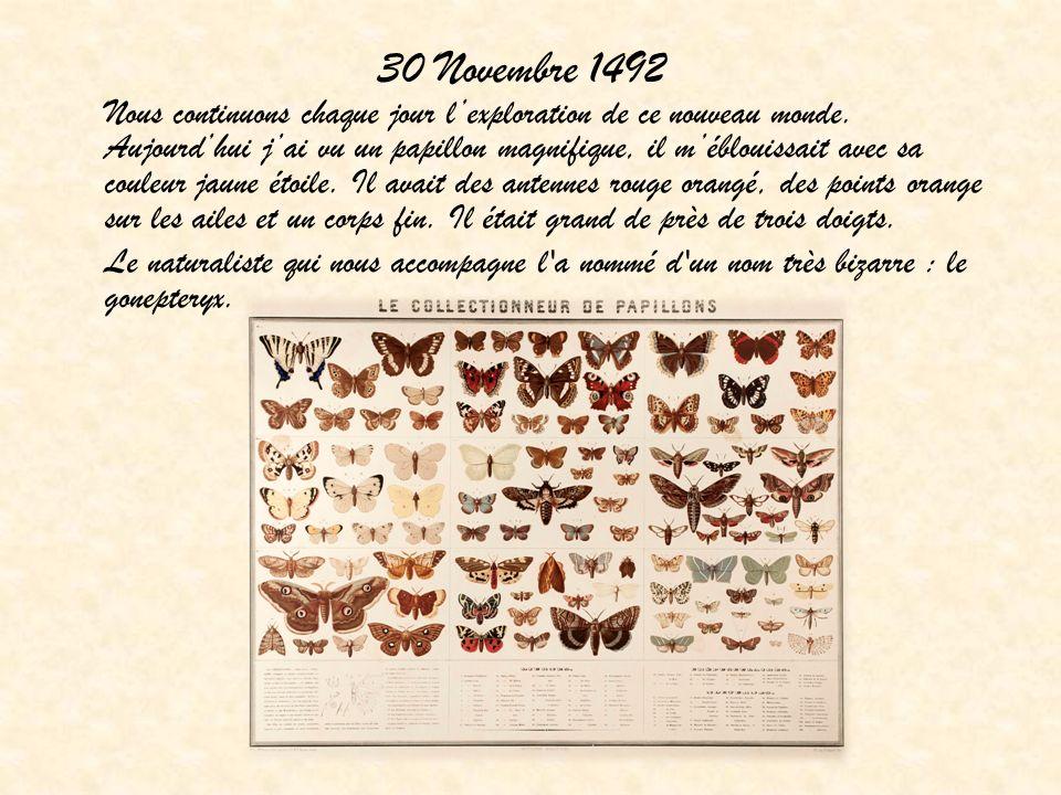 30 Novembre 1492