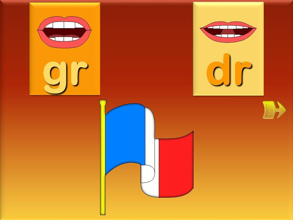 gr dr drapeau