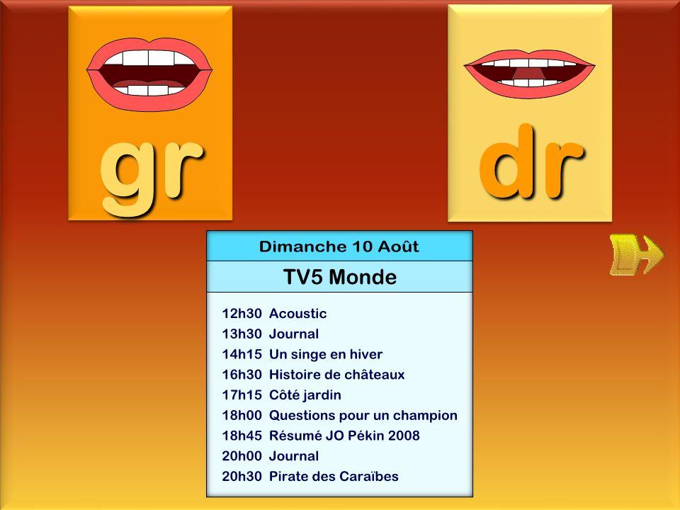 gr dr programme