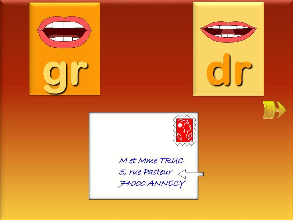 gr dr adresse