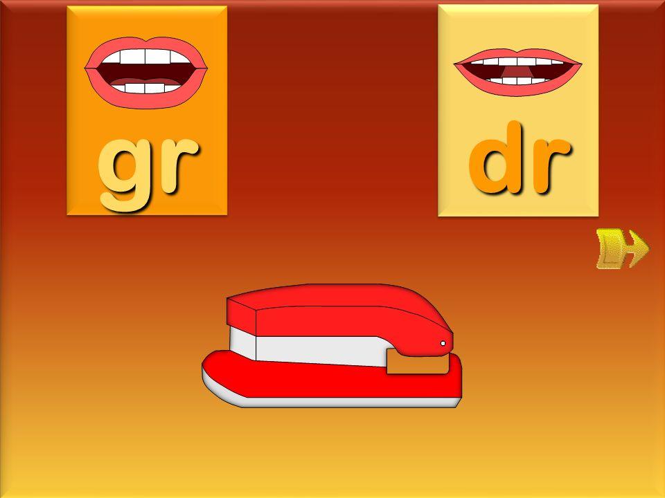 gr dr agrafeuse
