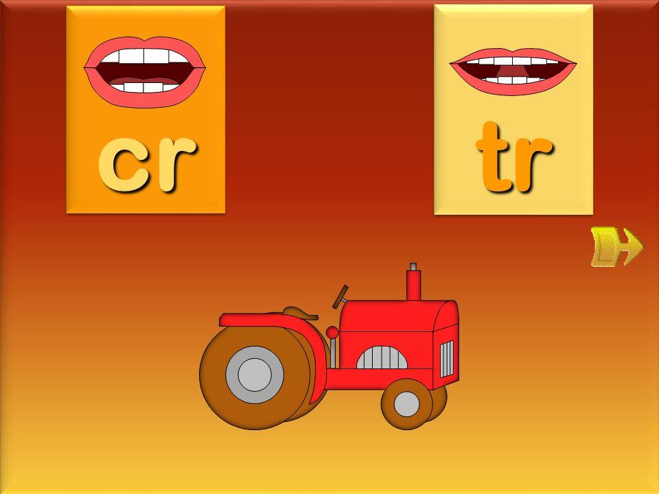 cr tr tracteur