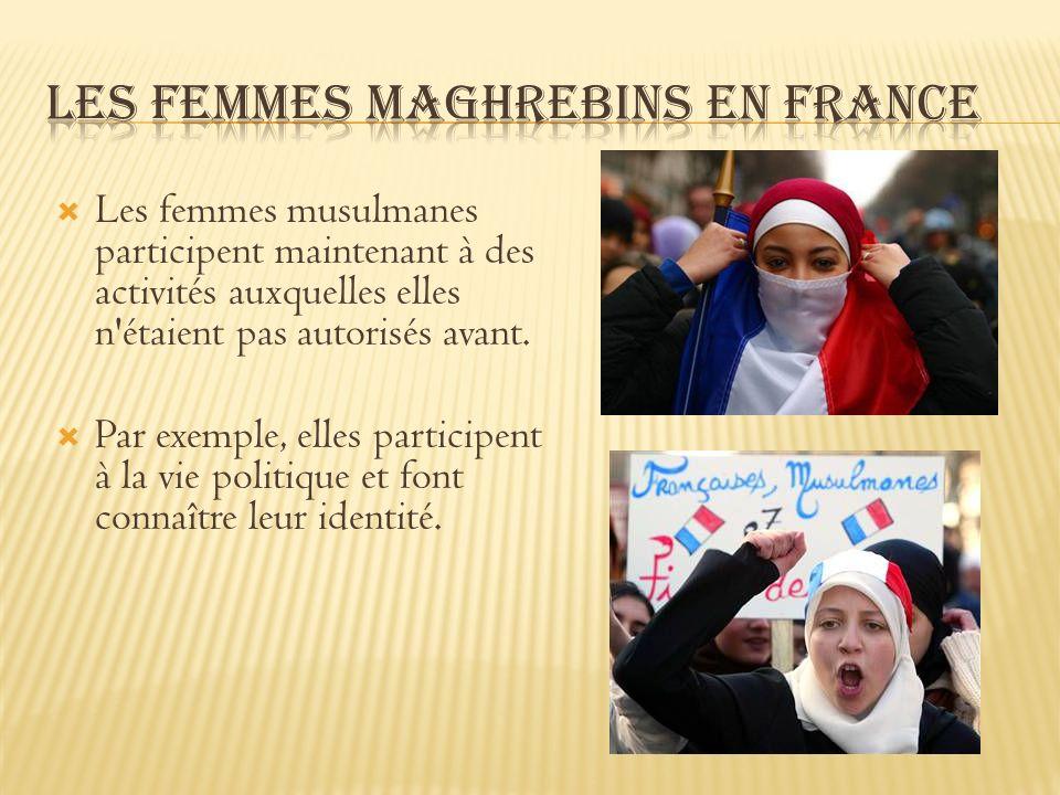 Les femmes Maghrebins en France
