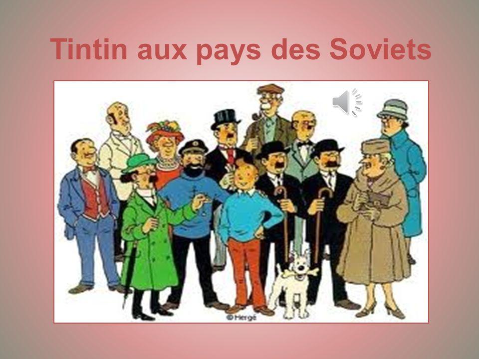 Tintin aux pays des Soviets