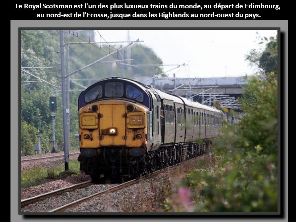 Le Royal Scotsman est l un des plus luxueux trains du monde, au départ de Edimbourg,