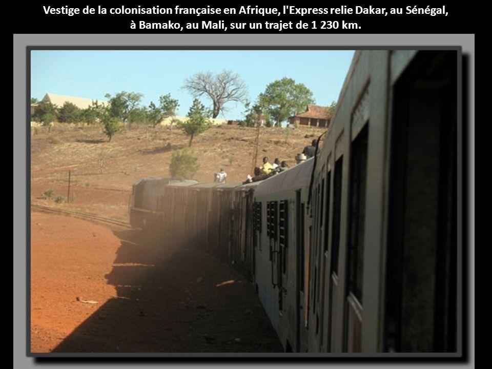 à Bamako, au Mali, sur un trajet de 1 230 km.