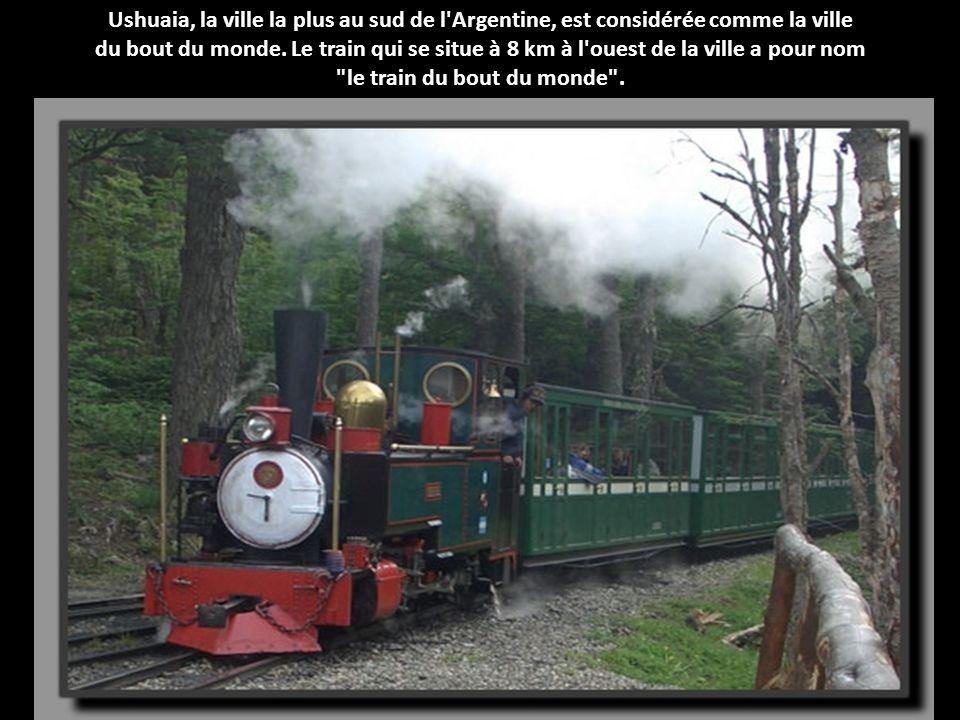 le train du bout du monde .