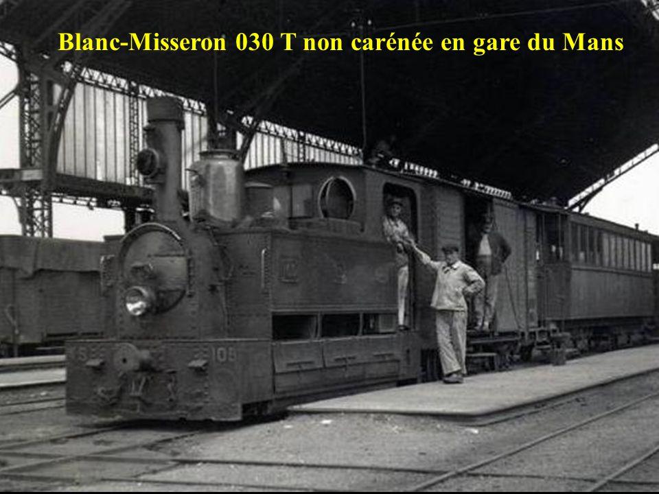 Blanc-Misseron 030 T non carénée en gare du Mans