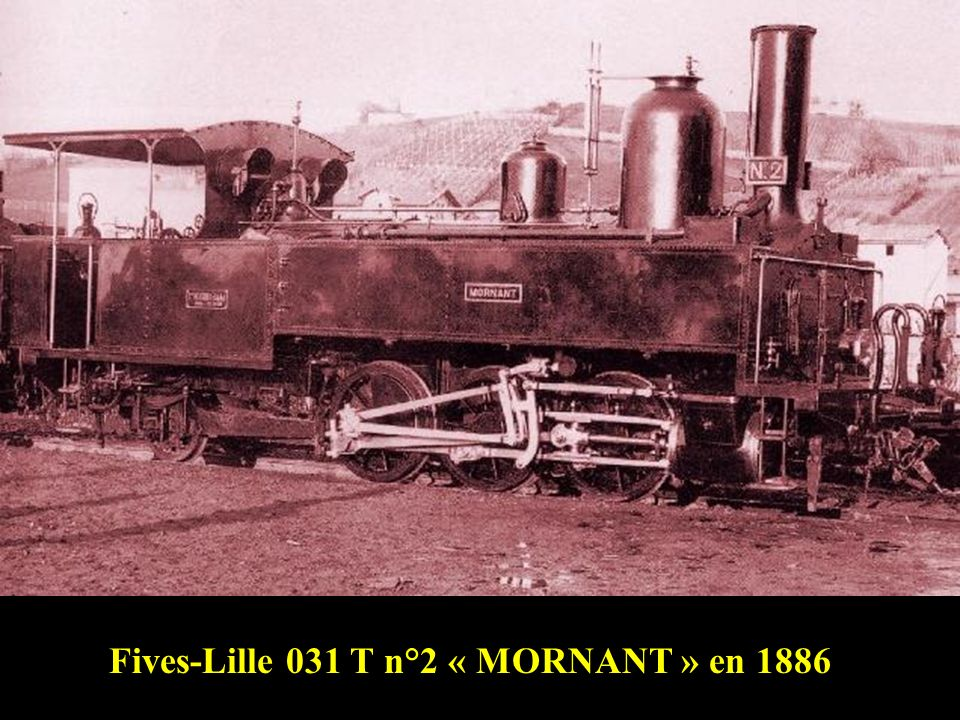 Fives-Lille 031 T n°2 « MORNANT » en 1886