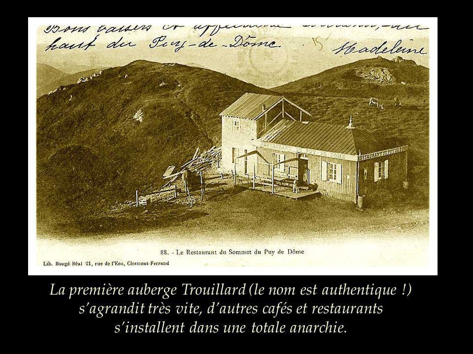 La première auberge Trouillard (le nom est authentique