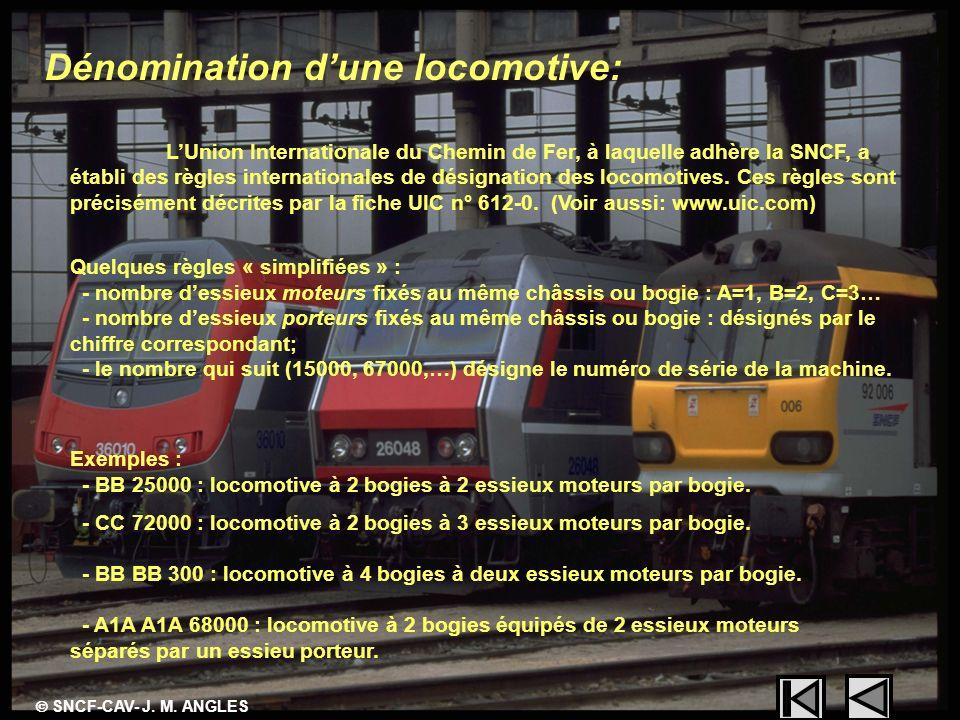 Dénomination d'une locomotive: