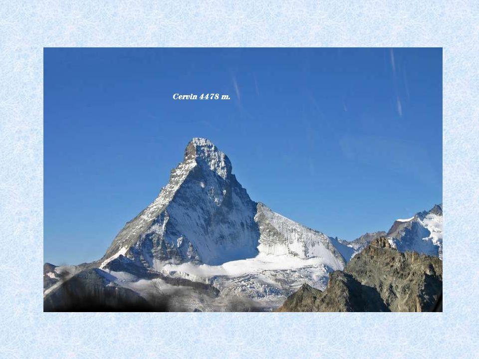 Cervin 4478 m.