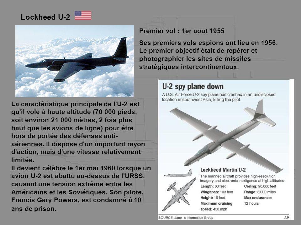 Lockheed U-2 Premier vol : 1er aout 1955